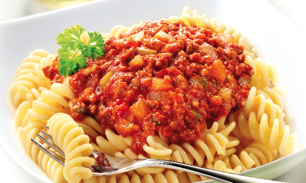 Tops Foods Shelf Stable Ready Meals Fusili Bolognese